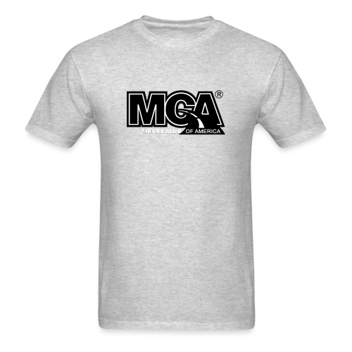 MCA Logo WBG Transparent BLACK TITLEfw fw png - Men's T-Shirt