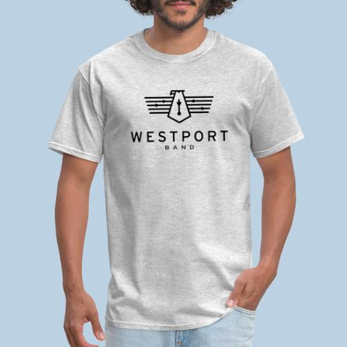 Westport Band Back on transparent - Men's T-Shirt
