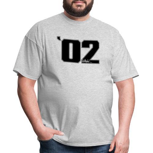 2002 (Black) - Men's T-Shirt