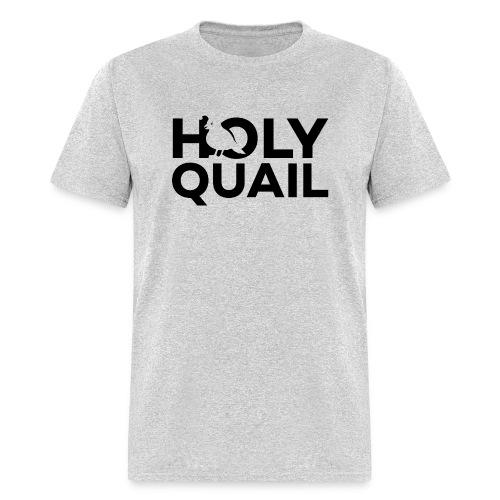 Holy Quail Logo - Men's T-Shirt