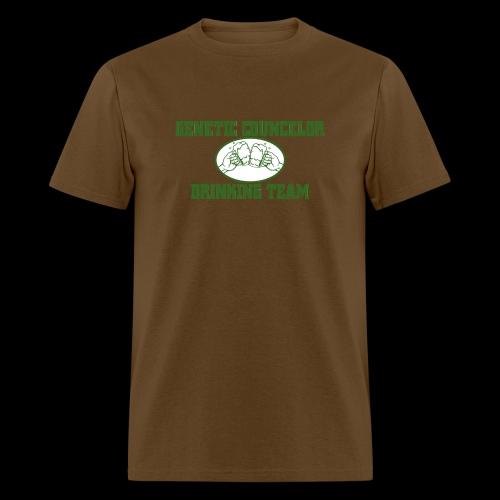 genetic counselor drinking team - Men's T-Shirt