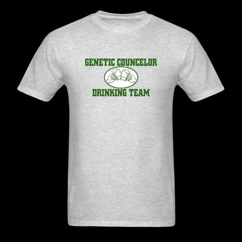 genetic counselor drinking team - Men's T-Shirt