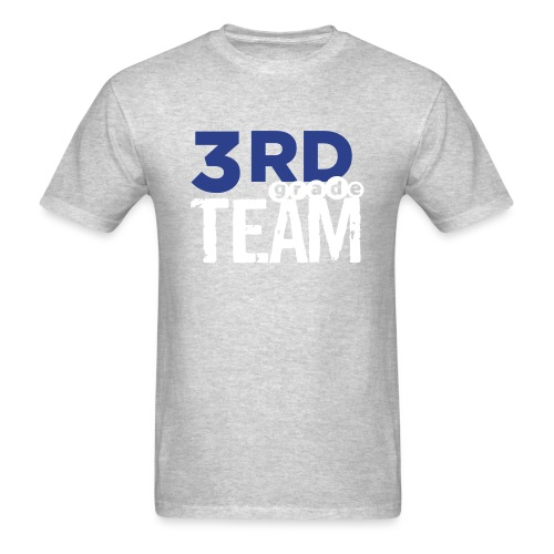 Bold 3rd Grade Team Teacher T-Shirts - Men's T-Shirt