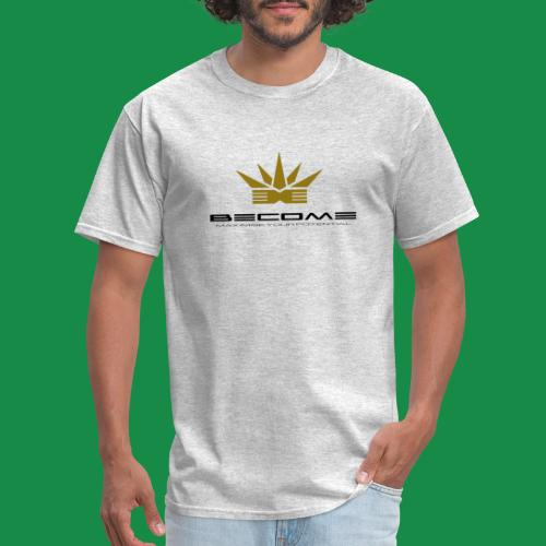 makare BLACK w Gold crown - Men's T-Shirt