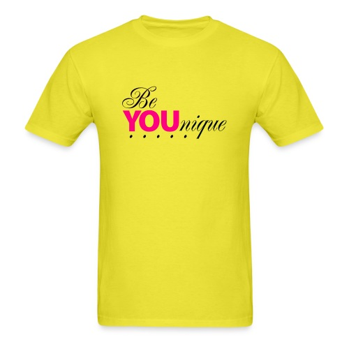 Be Unique Be You Just Be You - Men's T-Shirt