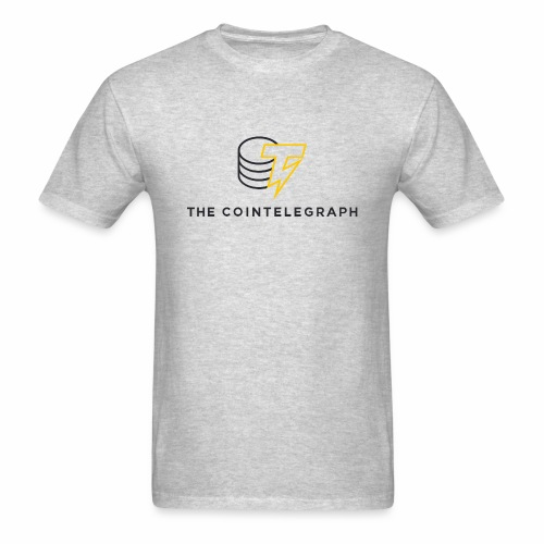 cointelegraph branding - Men's T-Shirt