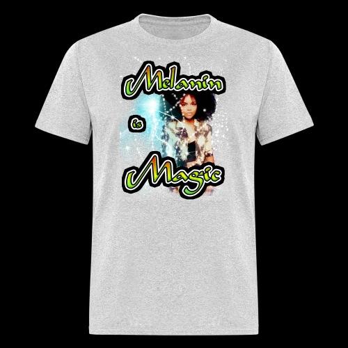 melanin is magic - Men's T-Shirt