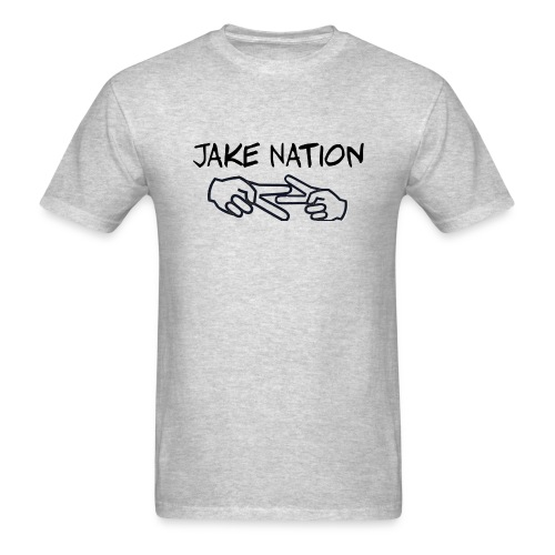 Jake nation shirts and hoodies - Men's T-Shirt