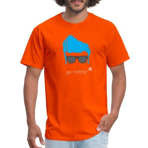 Geo Rockstar (him) - Men's T-Shirt
