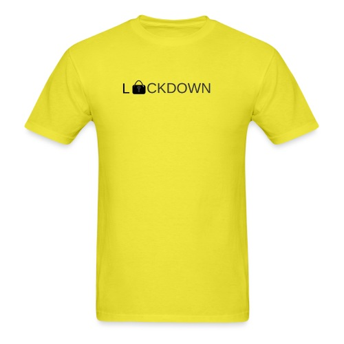 Lock Down - Men's T-Shirt