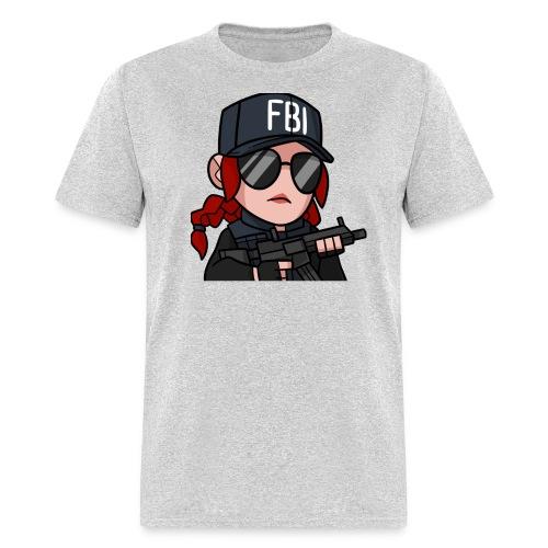 ash test 2 000000 png - Men's T-Shirt