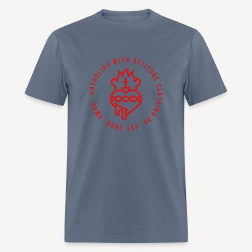 CATHOLICS WITH ATTITUDE CLOTHING CO. - Men's T-Shirt