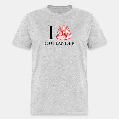 I LOVE OUTLANDER KILT - Men's T-Shirt