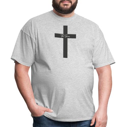 Jesus cross - Jesus the savior! - Men's T-Shirt