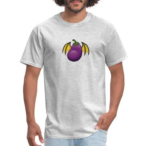 Eggplant Logo - Men's T-Shirt
