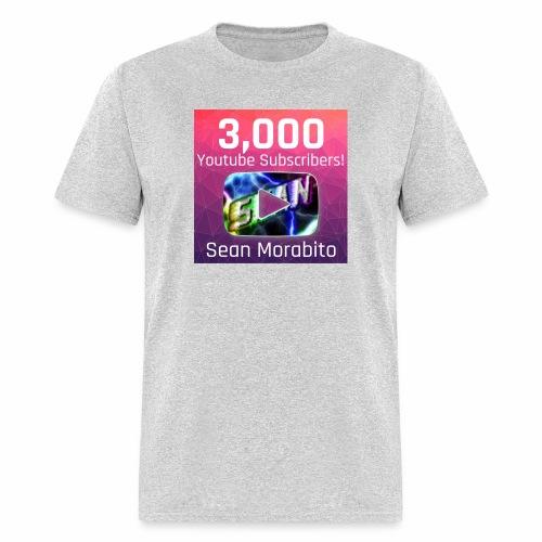 Sean Morabito's 3000 Sub's Logo - Men's T-Shirt
