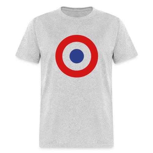 France Symbol - Axis & Allies - Men's T-Shirt
