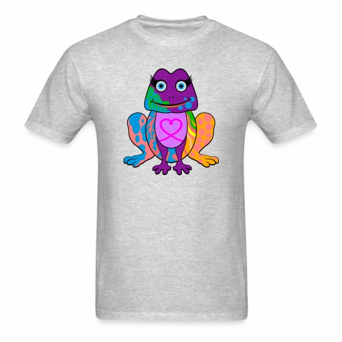 I heart froggy - Men's T-Shirt
