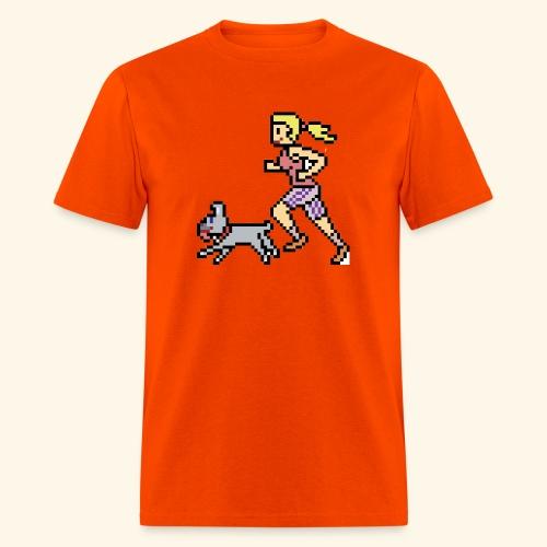 RunWithPixel - Men's T-Shirt