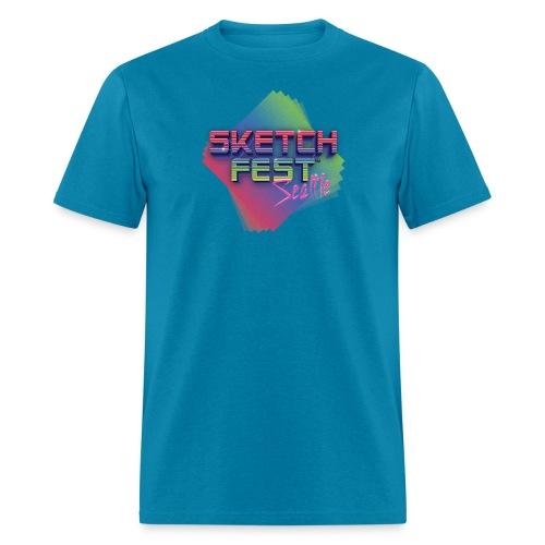 SketchFest2016 Tshirt 2500x2500 png - Men's T-Shirt