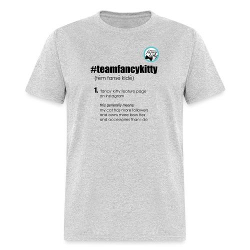 TFK-black-text2 - Men's T-Shirt