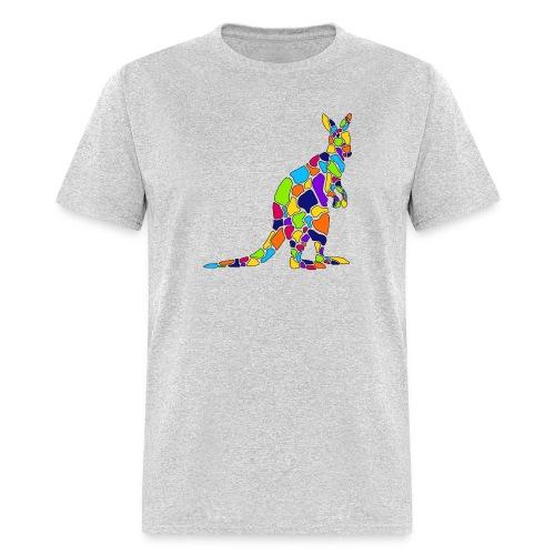 Art Deco kangaroo - Men's T-Shirt