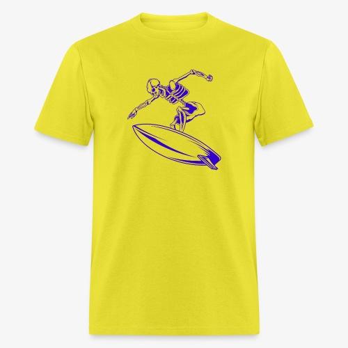 Surfing Skeleton 4c - Men's T-Shirt