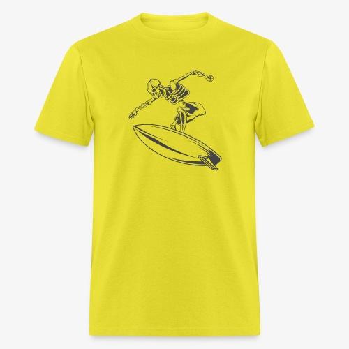 Surfing Skeleton 4 - Men's T-Shirt