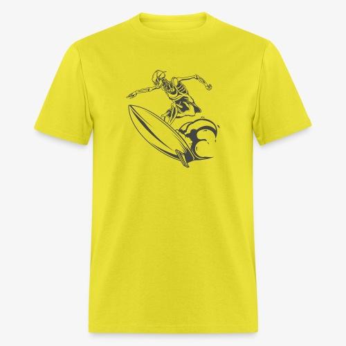 Surfing Skeleton 2 - Men's T-Shirt