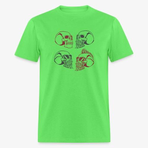 4 skulls - Men's T-Shirt