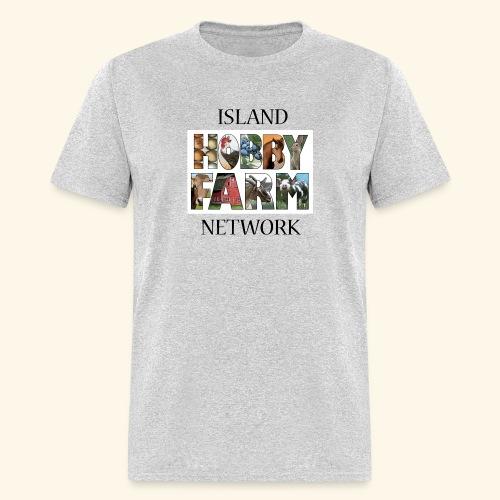 Island Hobby Farm Black Logo - Men's T-Shirt