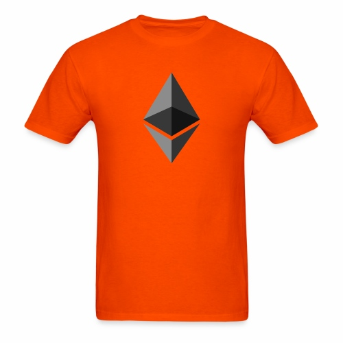 ethereum icon brand - Men's T-Shirt