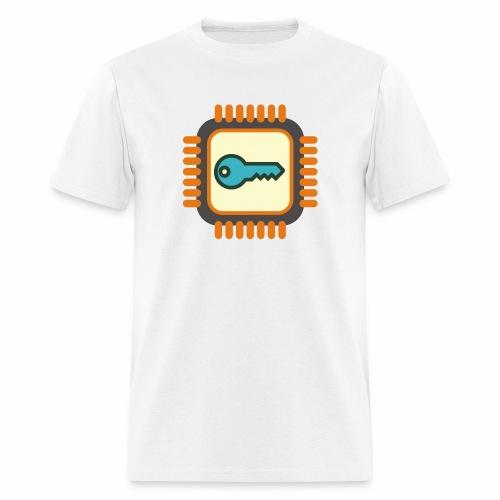 Micro Crypto Chip - Men's T-Shirt