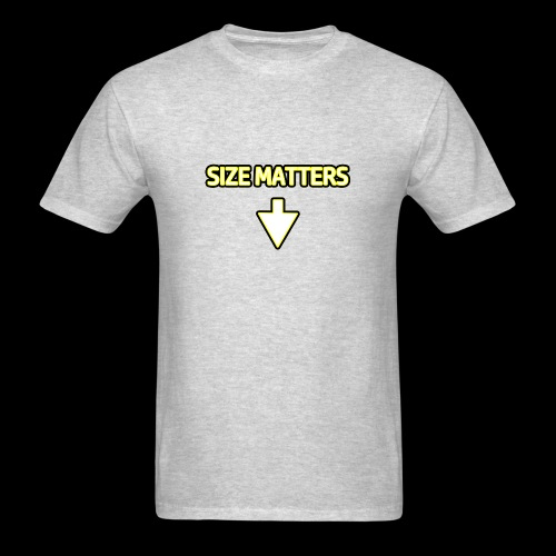 Size Matters - Guys - Men's T-Shirt