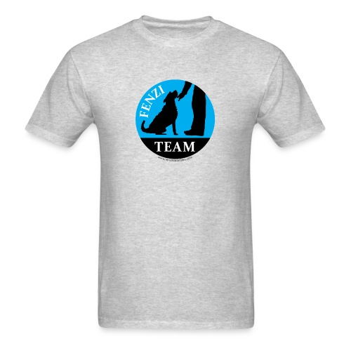 FENZITEAM Logo W - NOT FOR BLACK - Men's T-Shirt