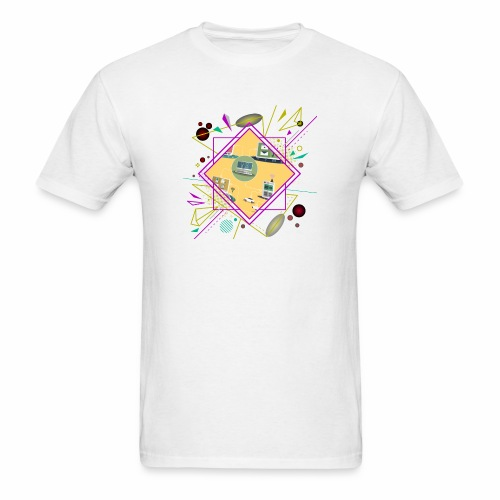 crypto clothing computer connecting - Men's T-Shirt