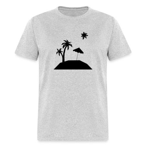 Beach Silhouette - Men's T-Shirt