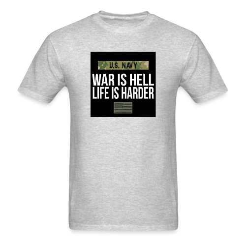 War Is Hell Navy - Men's T-Shirt