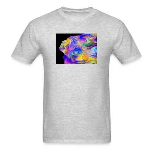 Abstract Contrast Hoodie - Men's T-Shirt