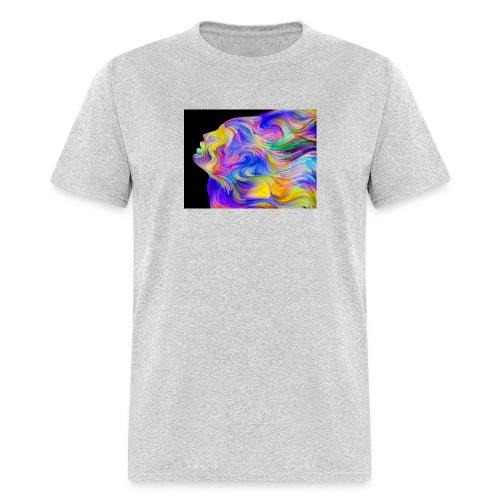 Abstract Contrast Hoodie - Men's T-Shirt