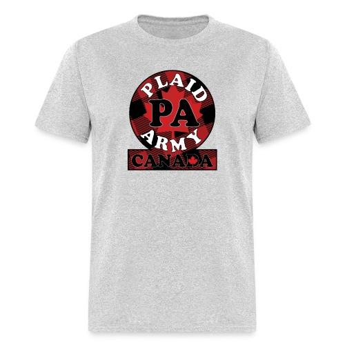 Plaid Army Canada - Men's T-Shirt