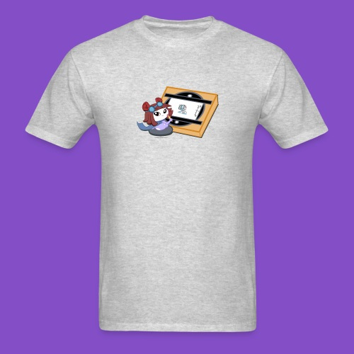 Zyrin with Animation Board - Men's T-Shirt