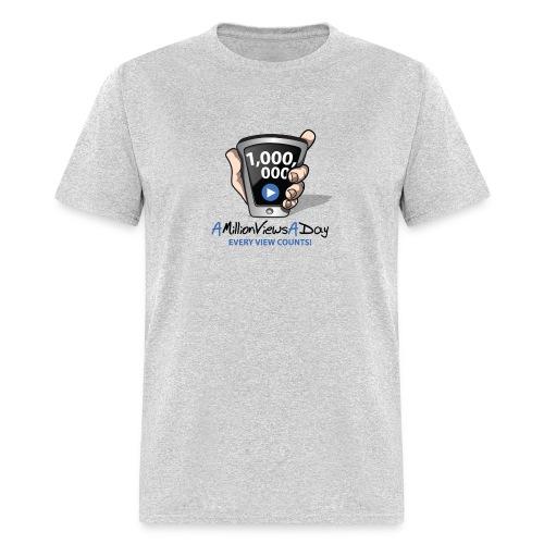AMillionViewsADay - every view counts! - Men's T-Shirt