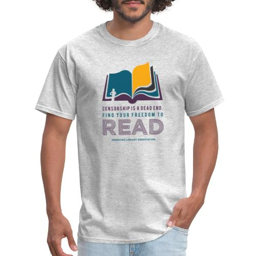 Find Your Freedom to Read - Men's T-Shirt