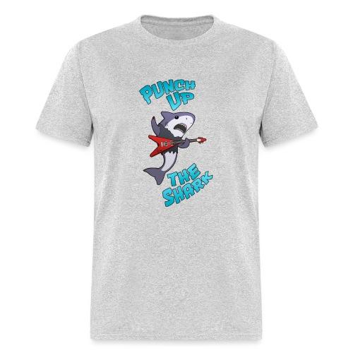 Punch up The Shark - Men's T-Shirt