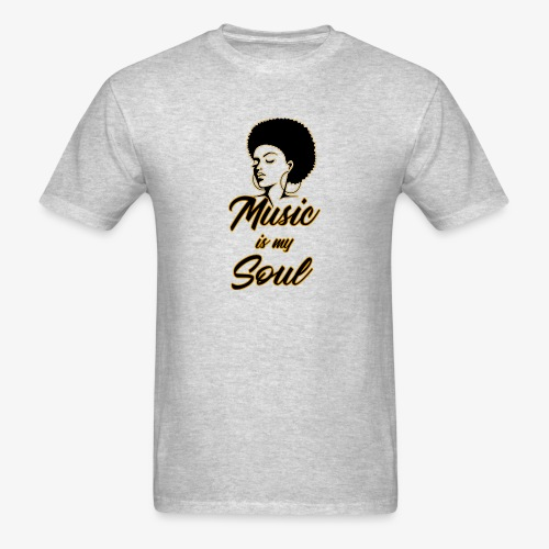 Music Is My Soul 2 - Men's T-Shirt
