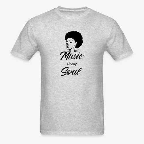 Music Is My Soul - Men's T-Shirt
