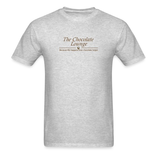 The Chocolate Lounge T shirt design 1 - Men's T-Shirt
