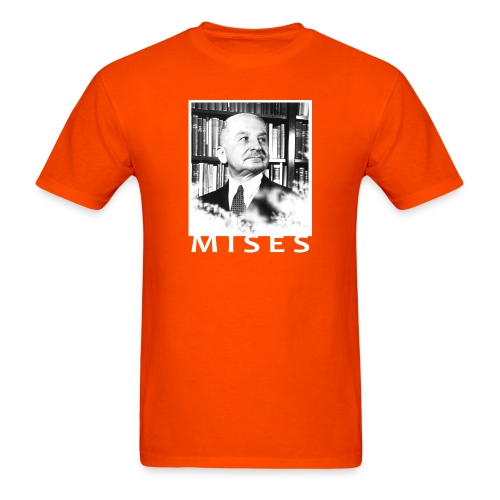 Ludwig von Mises Libertarian Design - Men's T-Shirt