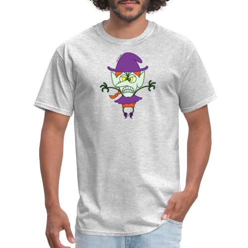 Scary Halloween Witch - Men's T-Shirt